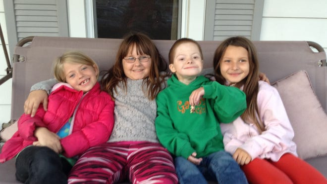 (From left to right) Bryanna, Katlynn, Joey and Rylan.