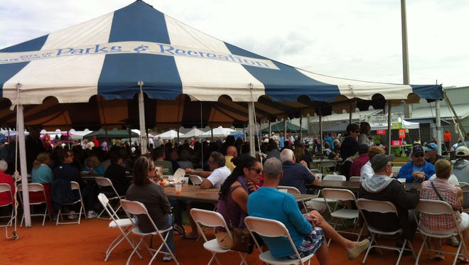 The Taste of Pine Island was cancelled because of wet weather.