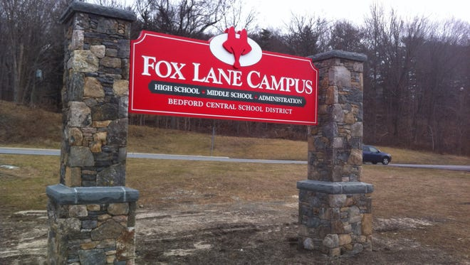 Bedford's Fox Lane campus, which includes both its middle and high schools.
