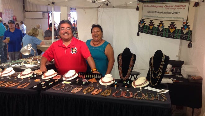 The All American Arts and Craft Show from 10 a.m. until 45 minutes after the last race Friday to Sunday.