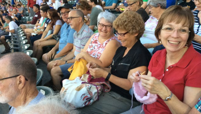Each year, the Somerset Patriots invite knitters and crocheters to a Stitch 'N Pitch game. This year's game will be July 27.