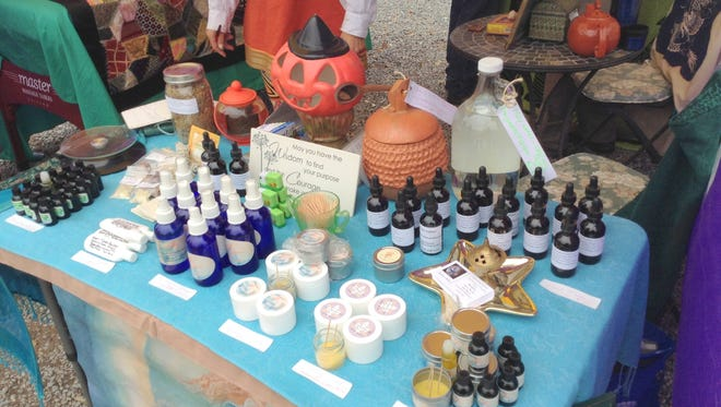 Essential oils, tinctures and other therapeutic items will be offered at the Healing Arts Fair on Oct. 8 at the New Church of the Southwest Desert.
