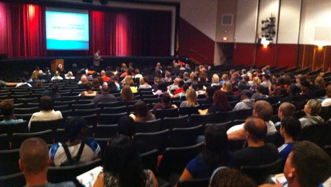 The Millville High School Guidance Department hosted its annual College Admissions/Financial Aid Seminar on Oct. 3.