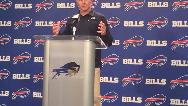 Sean McDermott is ready for his first draft as the head coach of the Bills.