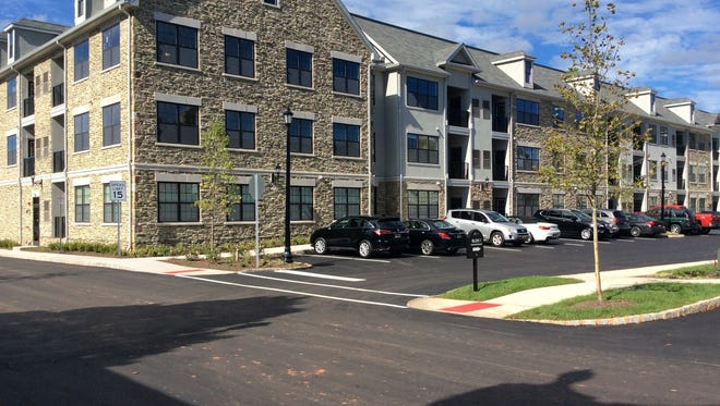 A new enclave of luxury one-, two- and three-bedroom apartments has just opened on the grounds of Merriewold Castle on a bluff overlooking Johnson Park and the Raritan River, in Highland Park.