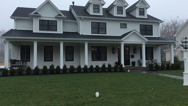 This six-bedroom home at the bottom of Roanoke Road will be on the Westfield Tour of Notable Homes on May 12. The photos that follow are all from the interior of this home.