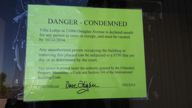 An Urbandale motel was condemned, due to inhabitable conditions according to the City of Urbandale.