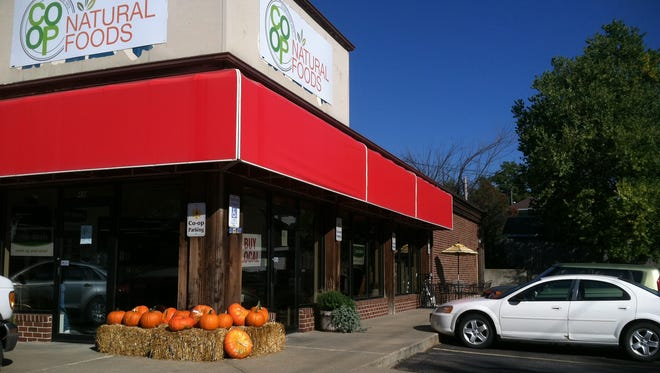 The Co-op Natural Foods store will stay in its new location and will expand to the north of the store. The main entrance is on the south.