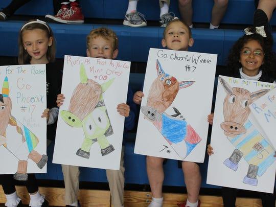 Villa Madonna Academy first-grade students Kate Bertoli