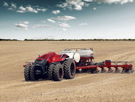 On Aug. 29, Case IH unveiled a concept model of its