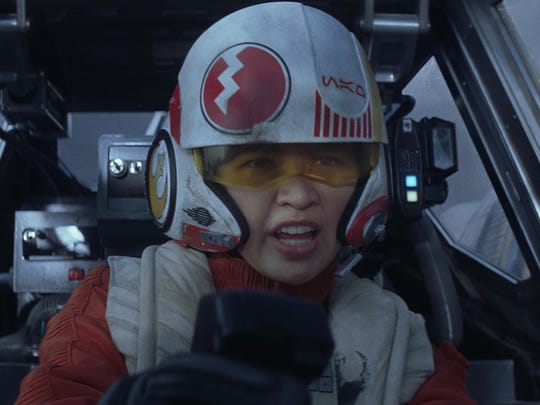 Jessica Henwick starred as X-Wing pilot Jess Pava in