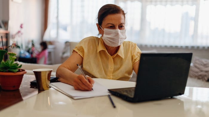 Working at home had a positive effect on productivity during the pandemic, survey shows