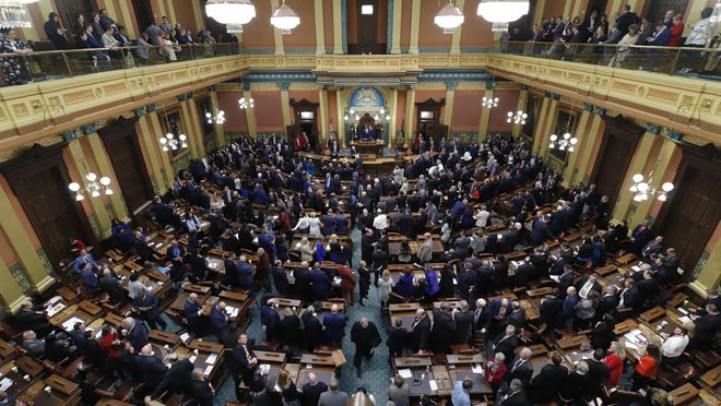 Michigan Democrats needed a net gain of four seats to take over control of the Michigan House of Representatives from Republicans.