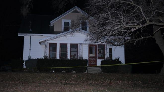 The house were John Van Havel Jr. and Deborah Van Havel were found dead from gunshot wounds on Christmas Eve.