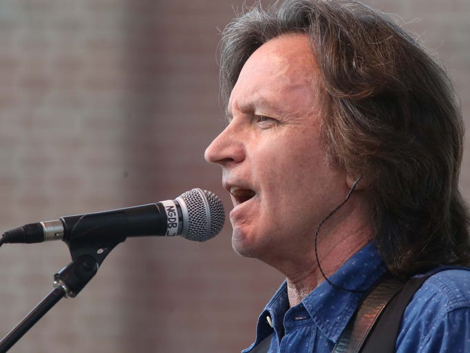 The Nitty Gritty Dirt Band is seen in concert on the Free Stage at the Indiana State Fair Wednesday August 13, 2014.