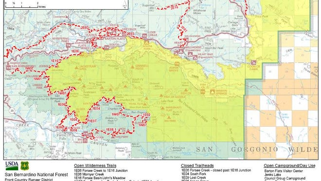 The U.S. Forest Service has reopened all campgrounds closed during the Lake Fire.