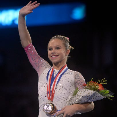 Ragan Smith wins first career women's gymnastics title at P&G Championships