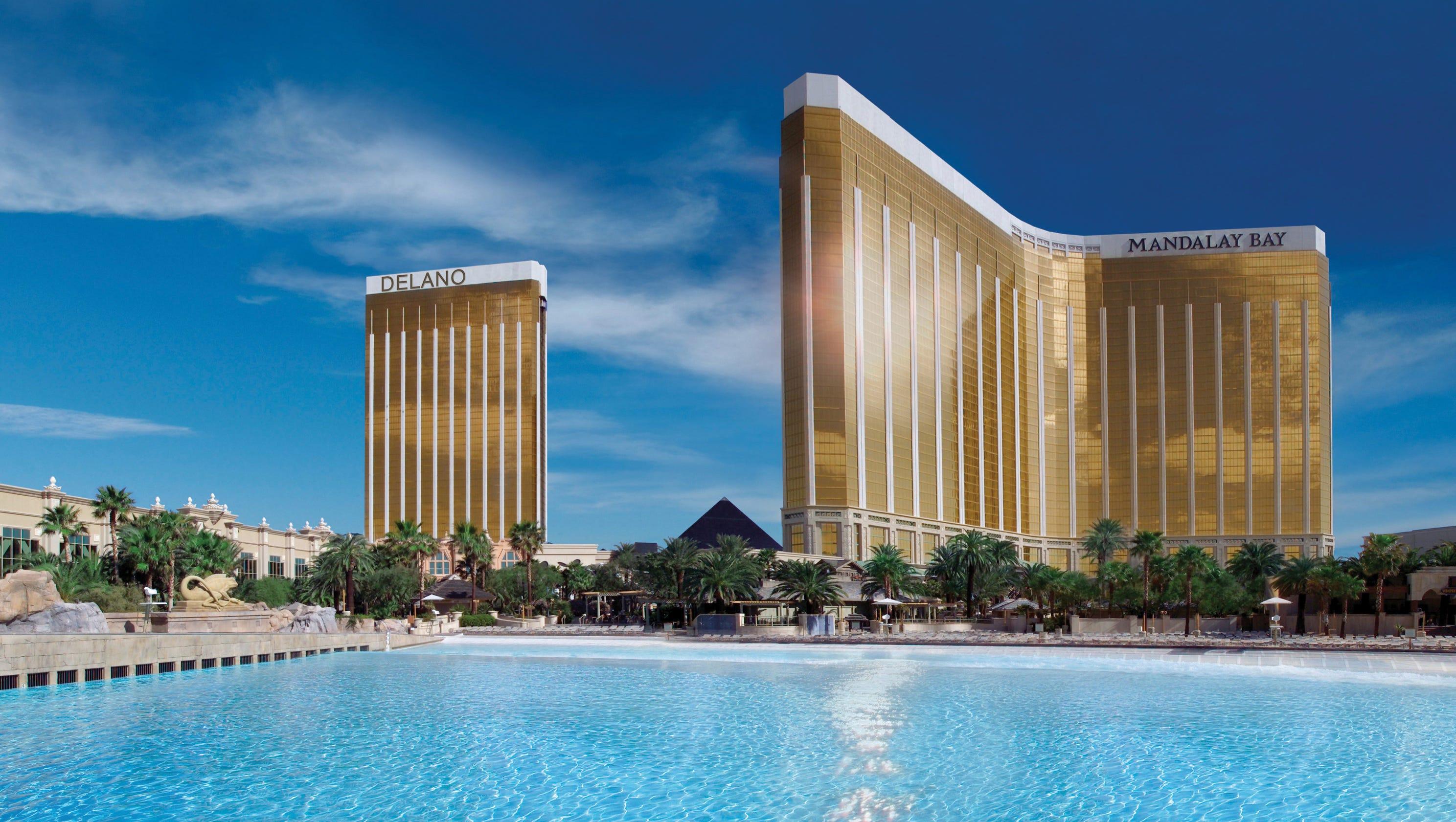 MANDALAY BAY Room KEY Card LAS VEGAS Casino Hotel /& Delano PROPERTY VIEW ~