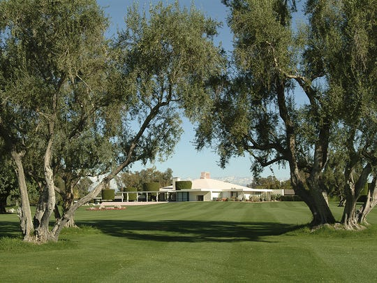 Sunnylands in Rancho Mirage was the winter home of