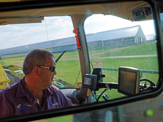 The year 2017 brought its own struggles as Shane had to replant after severe flooding drowned crops in western Wisconsin during May.