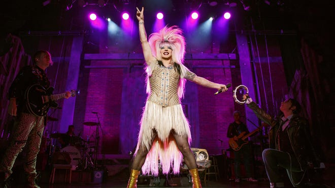"""The touring production of """"Hedwig and the Angry Inch"""" stars Tony nominee Euan Morton."""