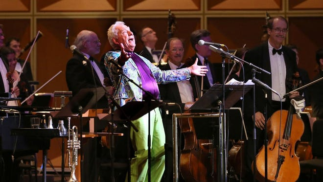Doc Severinsen will headline the Civic Music Association's Centennial Celebration Gala on Nov. 4 at the Marcus Center. In this 2016 photo, Severinsen milks the audience for more applause during a Milwaukee Symphony concert.