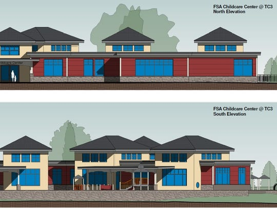 The new facility could take about 80 children at at time, and the center could provide day care for infants.