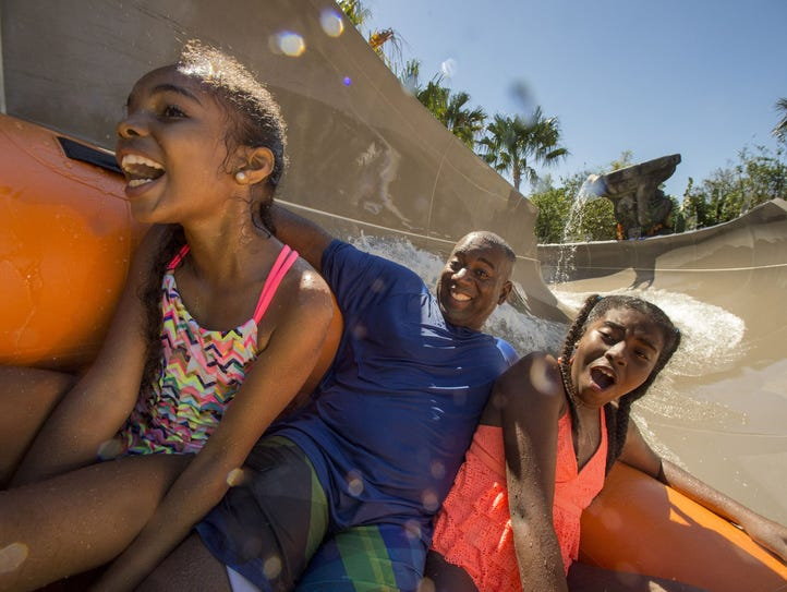 Miss Adventure Falls is a new family raft attraction