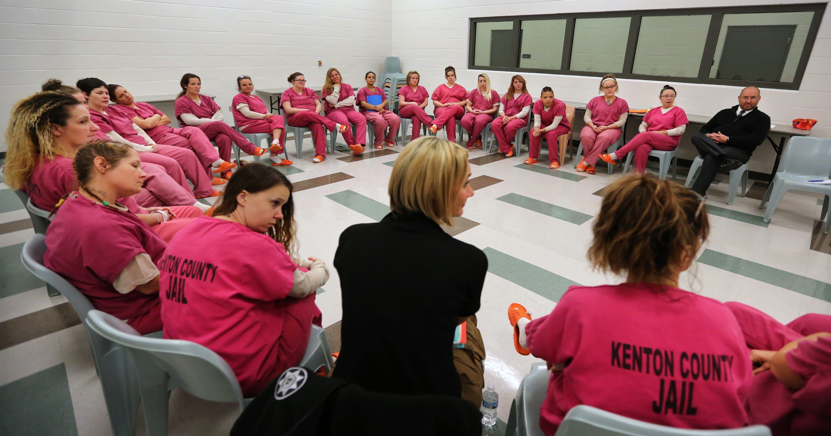 Inmates to get Hazelden treatment for addiction