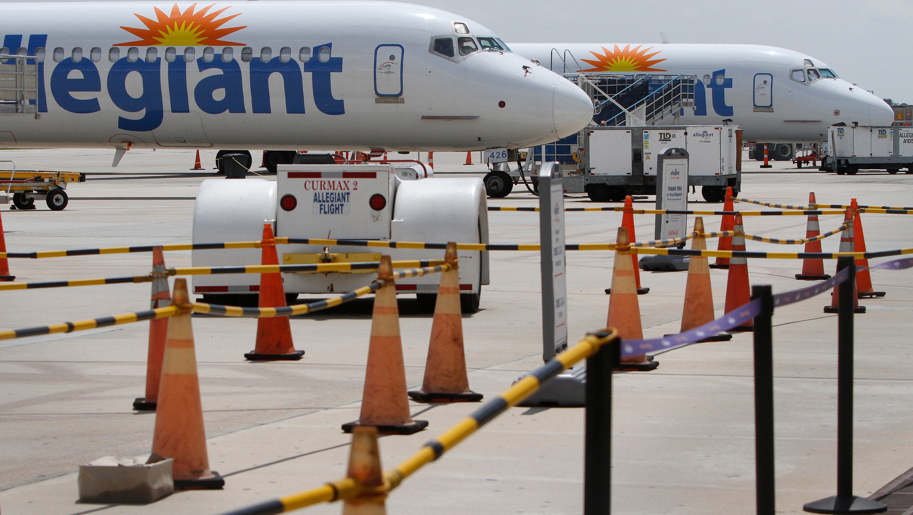 Punta gorda airport grows with allegiant flights for Global motors fort myers florida