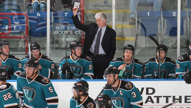 Worcester Sharks coach Roy Sommer broke the American Hockey League record for appearances in Wednesday's game against the Portland Pirates.