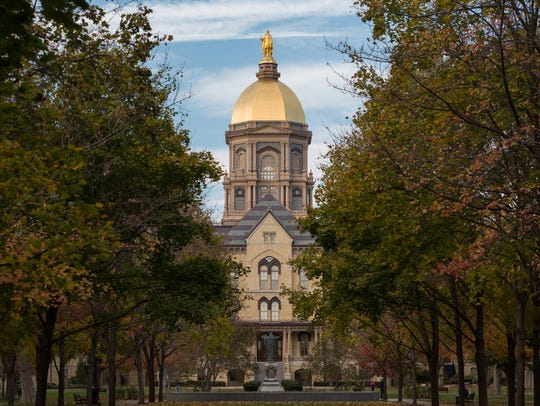 University of Notre Dame, South Bend.