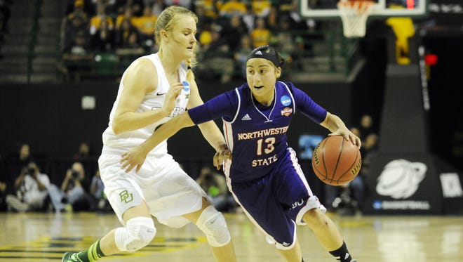 Janelle Perez scored a season-high 18 points against New Mexico State on Friday.