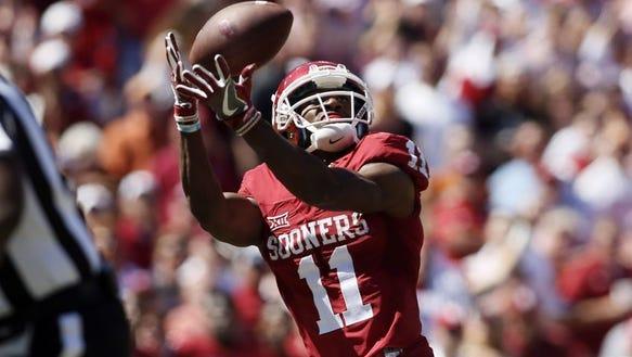 Oklahoma Sooners wide receiver Dede Westbrook (11)