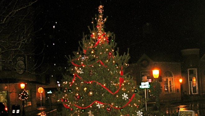 The town's Christmas tree will once again light up downtown Berlin this year.