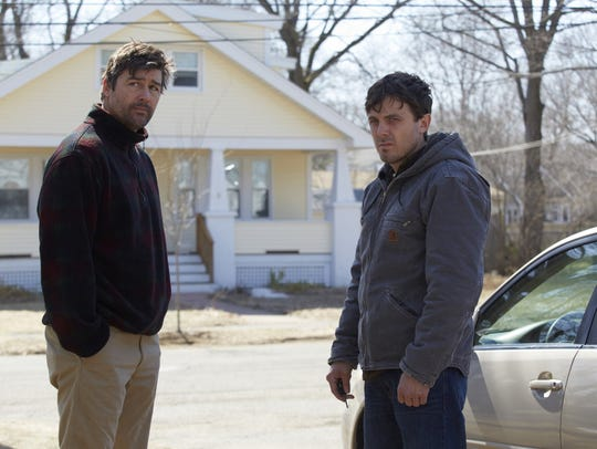 "Kyle Chandler and Casey Affleck in ""Manchester by the"