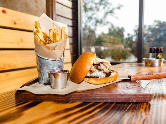 Lunch sandwich at Monterrey Grill