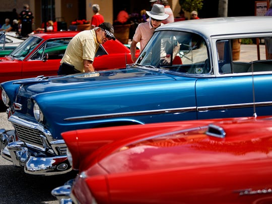 Auto enthusiasts gather regularly to show off some very fine machines at several locations throughout Collier and Lee counties.