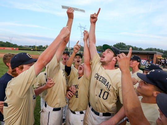 Cathedral defeated Castle 5-1 in Class 4A semistate