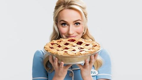 """Visalia's Betsy Wolfe was recently cast in the starring role in the Broadway production of """"Waitress."""""""