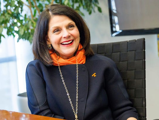 Incoming University of Tennessee Chancellor Beverly