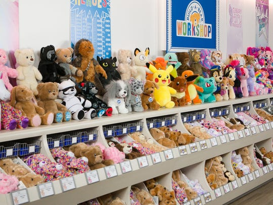 Stuffed animals galore!