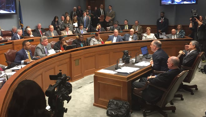 Gov. John Bel Edwards told the Joint Legislative Budget Committee on Jan. 27 he would ask the Legislature to approve taking $119 million from the Rainy Day Fund to mitigate midyear budget cuts.