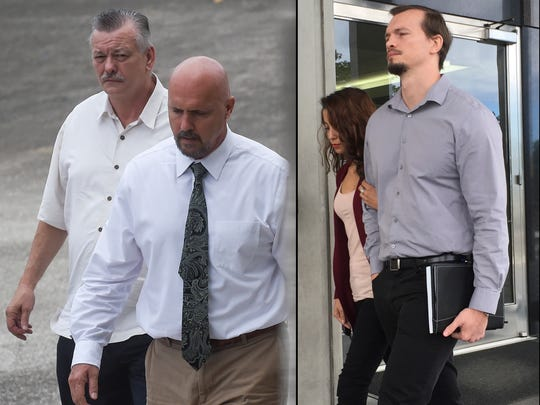 This combined image from January 2016 shows, from left: Clifford Shoemake and Kimberly Conner, part owners of Guam Medical Transport, and Nicholas Shoemake, executive assistant, right.