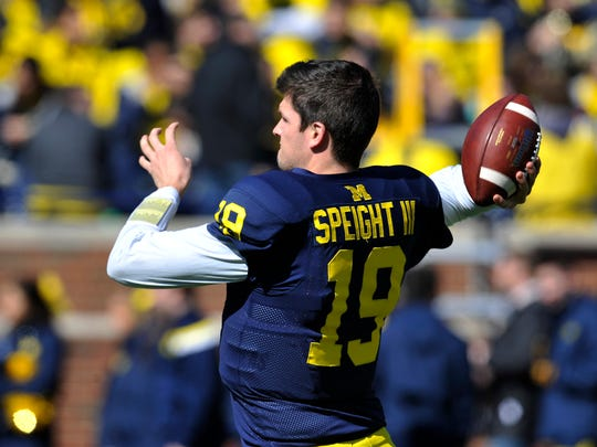 Michigan QB Wilton Speight