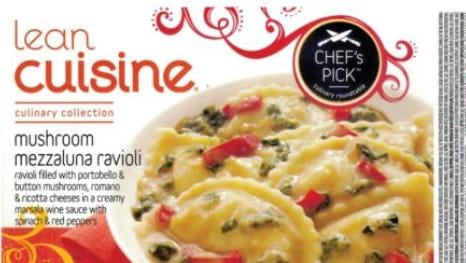 Nestle is voluntarily recalling Lean Cuisine Culinary Collection Mushroom Mezzaluna Ravioli and other products.