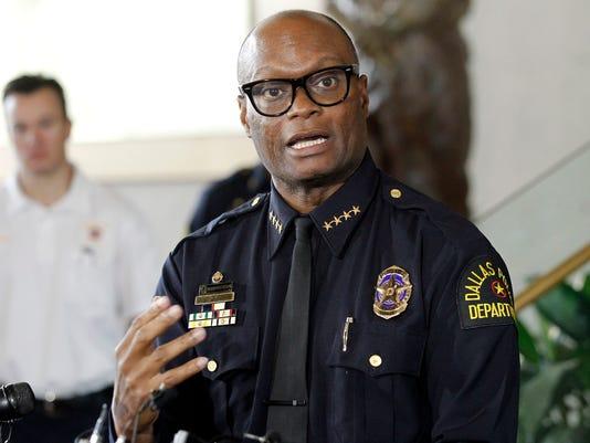 Dallas Police Chief David Brown