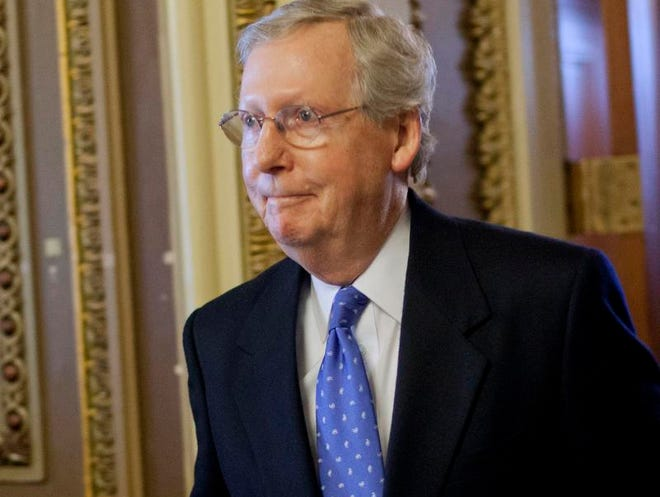 Senate Minority Leader Mitch McConnell of Ky. (AP Photo/Pablo Martinez Monsivais)