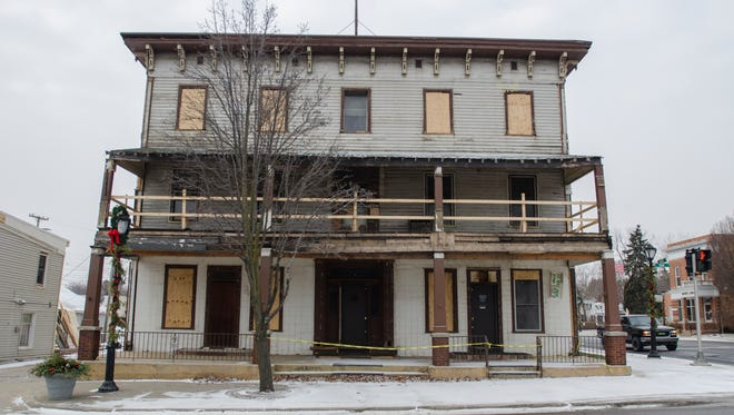 The Cadillac House remains closed Monday, Jan. 9, in downtown Lexington.