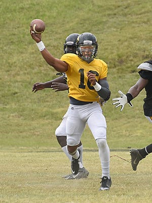 Grambling boasts more depth at quarterback than coach Broderick Fobbs thought existed.